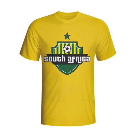 South Africa Country Logo T-shirt (yellow)