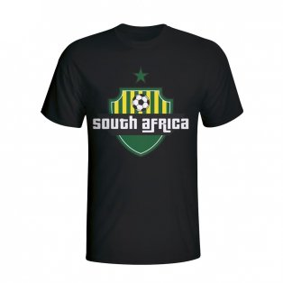 South Africa Country Logo T-shirt (black)