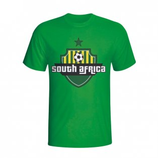 South Africa Country Logo T-shirt (green)