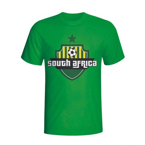South Africa Country Logo T-shirt (green) - Kids