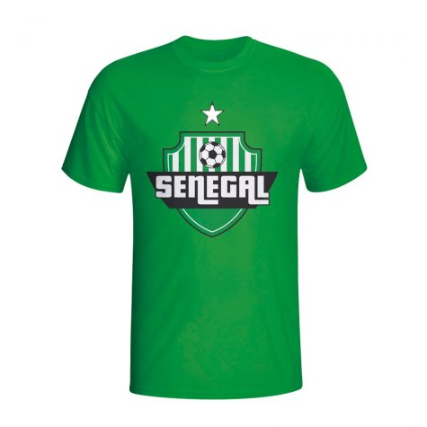 Senegal Country Logo T-shirt (green)