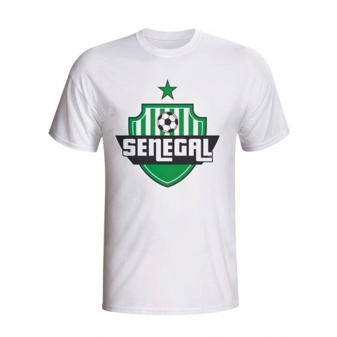Senegal Country Logo T-shirt (white)