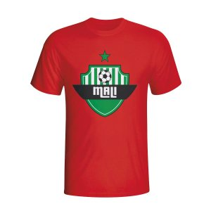 Mali Country Logo T-shirt (red)