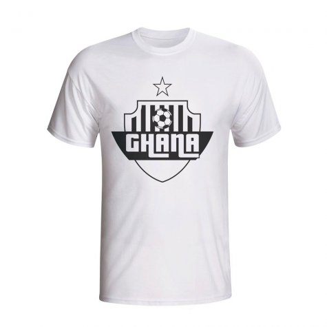 Ghana Country Logo T-shirt (white) - Kids