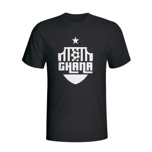 Ghana Country Logo T-shirt (black) - Kids