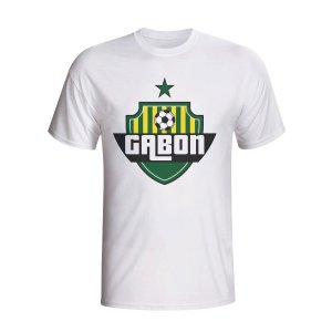 Gabon Country Logo T-shirt (white) - Kids