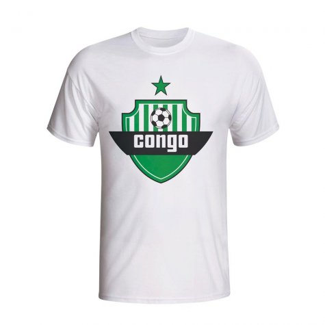 Congo Country Logo T-shirt (white)