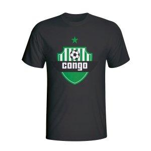 Congo Country Logo T-shirt (black) - Kids