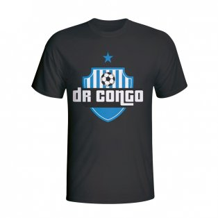Dr Congo Country Logo T-shirt (black) - Kids