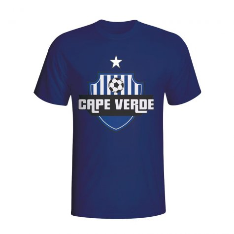 Cape Verde Country Logo T-shirt (navy) - Kids