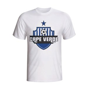 Cape Verde Country Logo T-shirt (white)