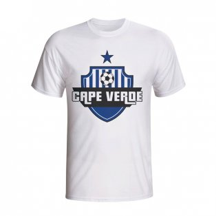 Cape Verde Country Logo T-shirt (white) - Kids
