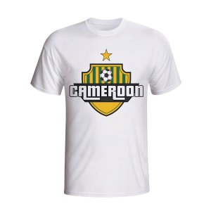 Cameroon Country Logo T-shirt (white)