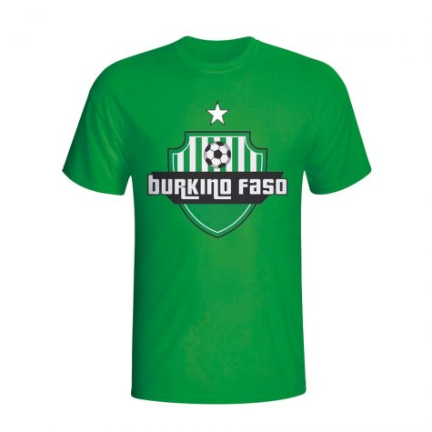 Burkino Faso Country Logo T-shirt (green) - Kids