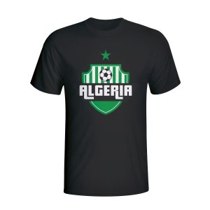 Algeria Country Logo T-shirt (black)