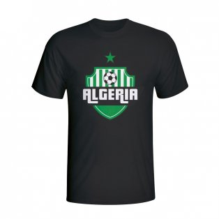 Algeria Country Logo T-shirt (black) - Kids