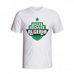 Algeria Country Logo T-shirt (white) - Kids