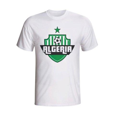 Algeria Country Logo T-shirt (white) - Kids
