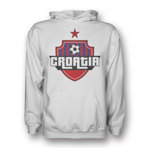 Croatia Country Logo Hoody (white) - Kids