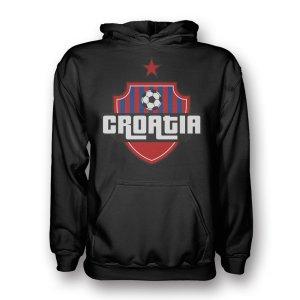 Croatia Country Logo Hoody (black)