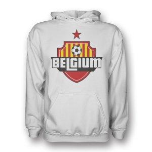 Belgium Country Logo Hoody (white) - Kids