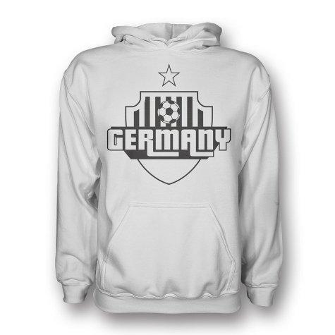Germany Country Logo Hoody (white)