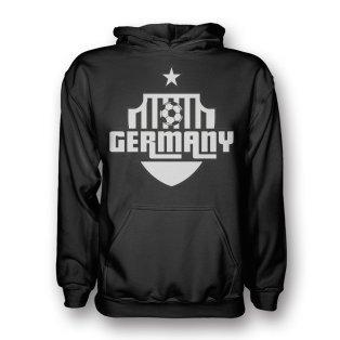 Germany Country Logo Hoody (black) - Kids