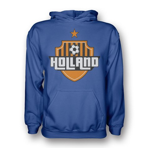 Holland Country Logo Hoody (blue)
