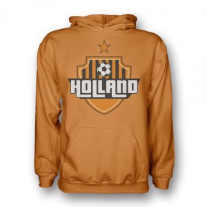 Holland Country Logo Hoody (orange) - Kids