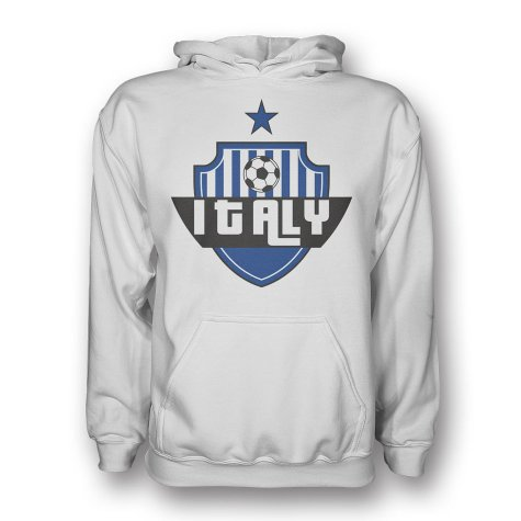 Italy Country Logo Hoody (black)