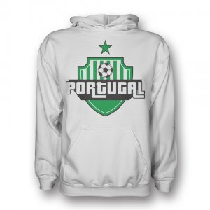 Portugal Country Logo Hoody (white) - Kids