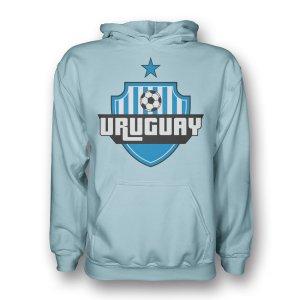 Uruguay Country Logo Hoody (sky Blue)
