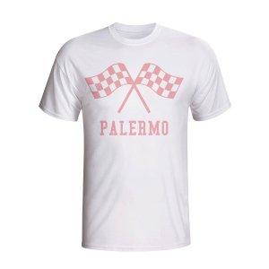 Palermo Waving Flags T-shirt (white) - Kids