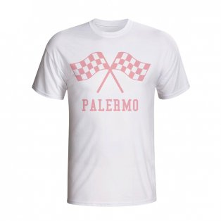Palermo Waving Flags T-shirt (white) - Kids