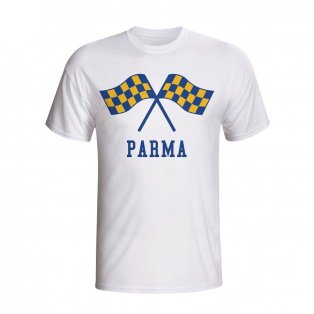 Parma Waving Flags T-shirt (white) - Kids