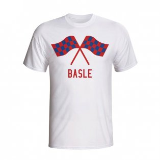 Basle Waving Flags T-shirt (white) - Kids
