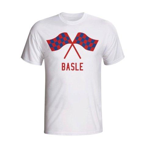 Basle Waving Flags T-shirt (white)