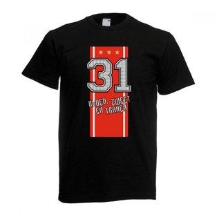 2012 Ajax Champions T-Shirt (Black)