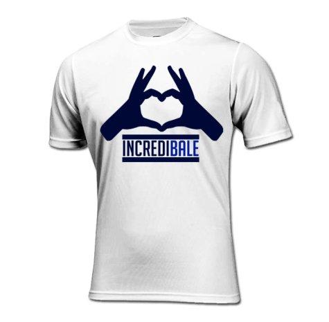 Gareth Bale Incredibale T-Shirt (White)