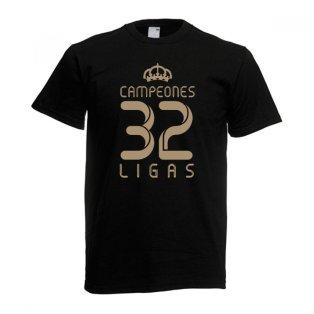 2012 Real Madrid Champions T-Shirt (Black)