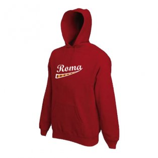 AS Roma Supporters Hoody (Maroon)