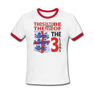 England Euro 2012 Our Year T-Shirt