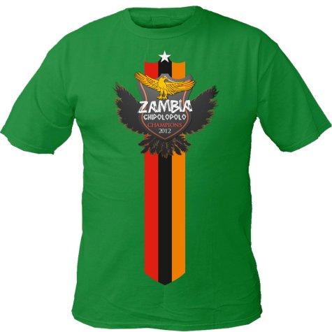 Bandiera Di Zambia Maglietta ljyRUt0w