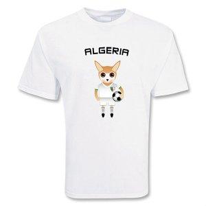 Algeria Mascot Soccer T-shirt