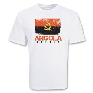 Angola Soccer T-shirt