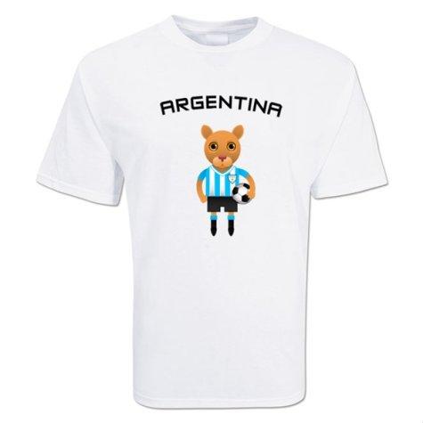 Argentina Mascot Soccer T-shirt