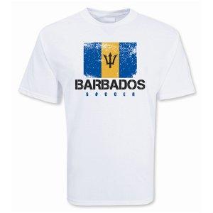 Barbados Soccer T-shirt