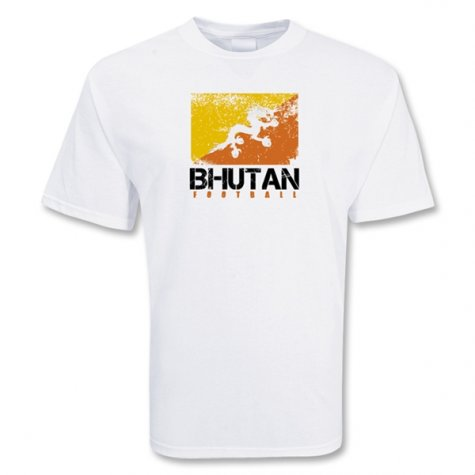 Bhutan Football T-shirt