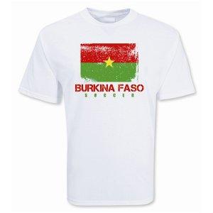 Burkina Faso Soccer T-shirt
