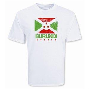 Burundi Soccer T-shirt